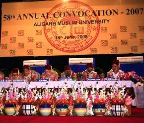 அலீகர் முஸ்லிம் பல்கலைக்கழகத்தின் 58-ஆம் பட்டமளிப்பு விழா